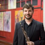 Austin Smith, instructor of oboe at the University of Mississippi