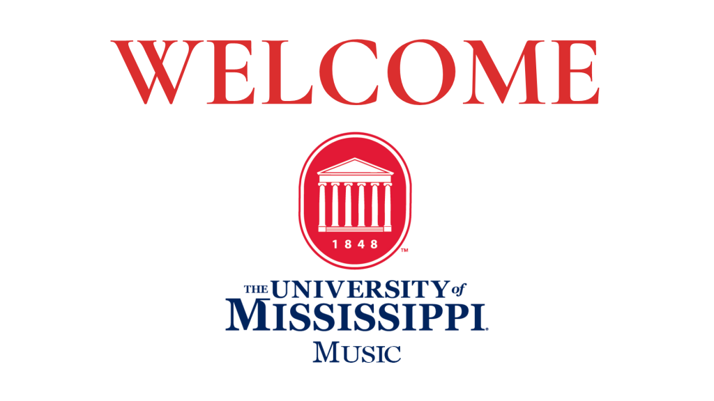 Welcome to Ole Miss Music