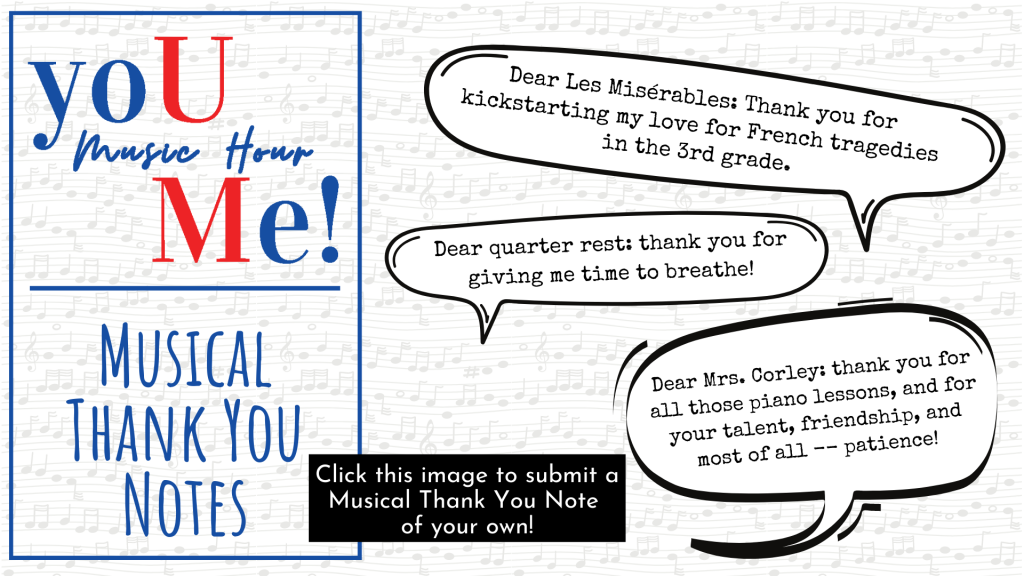 Musical Thank You Notes Pres Image