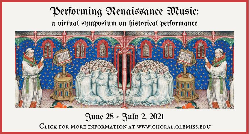 Renaissance Music symposium Slider